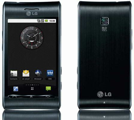 Hp Lg Optimus Zone 3 techzone lg optimus gt540 android phone features and