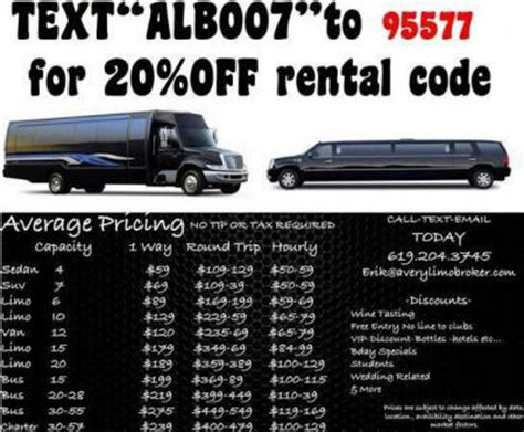 Limo Service Quotes by San Diego Limo Service Rate Quotes San Diego Limo