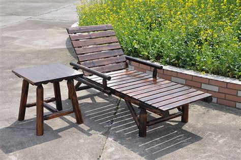 Patio Lounger by Outdoor Lounge Chairs Wood Preservative Wood Balcony Patio