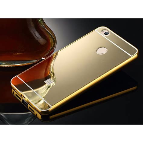 Mirror Bumper Aluminium With Backcase For Xiaomi Mi Max 1 aluminium bumper with mirror back cover for xiaomi mi4s golden jakartanotebook