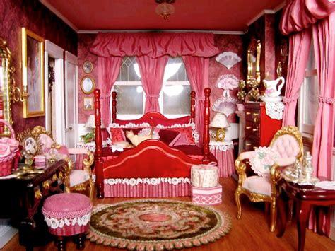 blukatkraft victorian dollhouse bedroom  bathroom