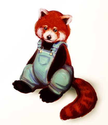 it s a panda in overalls by trowicia on deviantart
