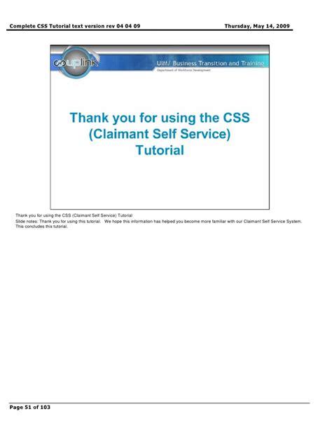css tutorial complete complete css tutorial text version rev 04 04 09
