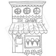 ice cream store coloring page free candy coloring pages for kids the parlour