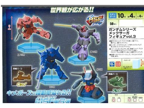 Gundam Big Zam Mech Saga Figure gundam mech saga figure vol 3 random figure
