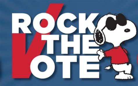 nikki deloach promotes peanuts quot rock the vote quot initiative win a rock the vote - Voting Giveaways
