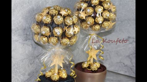 diy ferrero rocher tree σοκολατένιο δέντρο ferrero rocher tree diy
