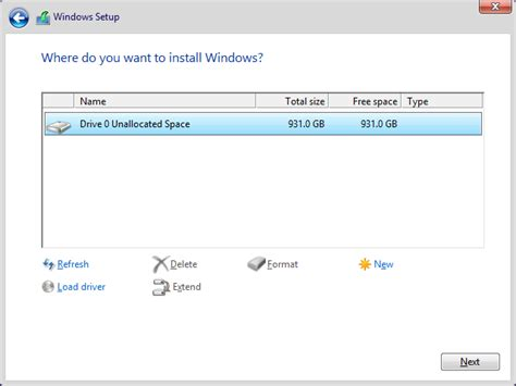 install windows 10 separate partition fresh install windows 10 recovery partition windows 10