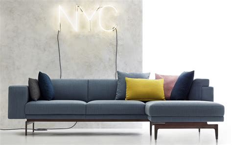 Nyc Sofa Modular Sofa Corner Contemporary Fabric Nyc