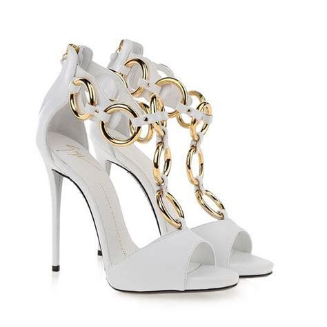 white giuseppe zanotti sandals giuseppe zanotti sandals shop white leather 120mm