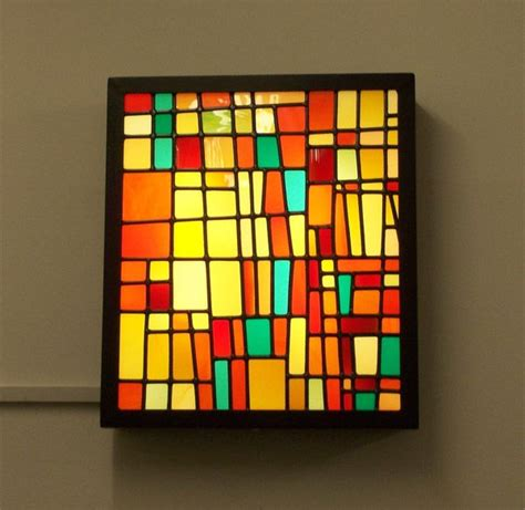 stained glass window light box 203 best images about hanging stained glass panels on