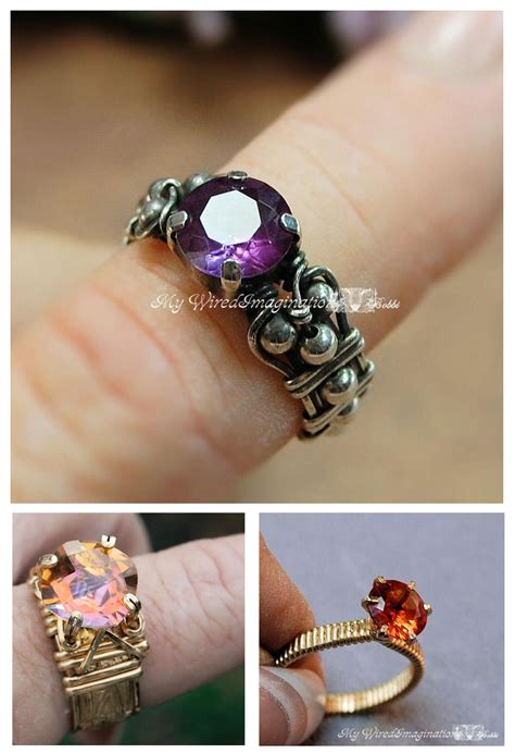 how to make jewelry rings learn how to make wire wrapped rings