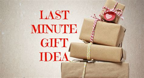 need a last minute gift idea give a book instead of a