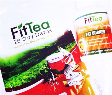 Fit Tea 28 Day Detox by Fit Tea Fitteadetox Stuff I Shop