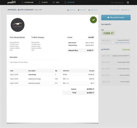Invoice Ui Design | mejores 21 im 225 genes de dise 241 o factura presupuesto en