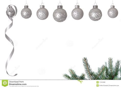 white christmas balls stock photo image of christmas