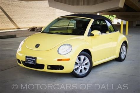 buy car manuals 2008 volkswagen new beetle on board diagnostic system sell used 2008 volkswagen beetle convertible manual sat radio in carrollton texas united states