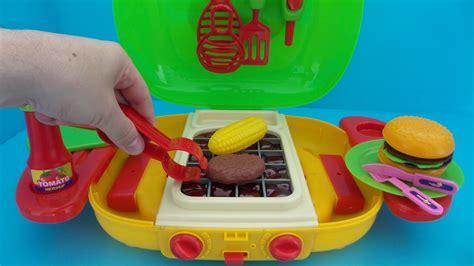 speelgoed uitpakken speelgoed barbecue keuken uitpakken en spelen unboxing