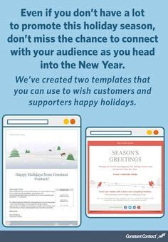 1000 Images About Holiday Email Marketing Tips On Pinterest Holiday Emails Email Marketing Constant Contact Happy New Year Template