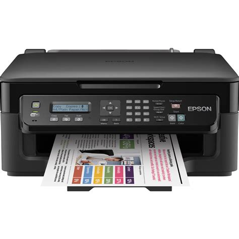Printer Epson epson workforce wf 2510wf a4 colour multifunction inkjet printer c11cc58301