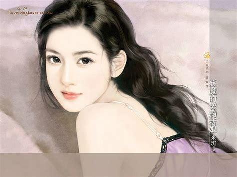 sweet models angelic sweet girl paintings of romance novel covers 5