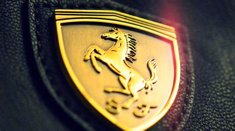 gold ferrari wallpaper aa22 gold ferrari logo art papers co