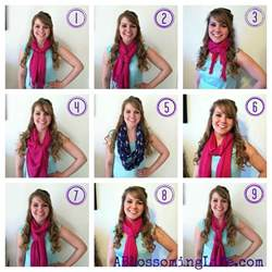 Different Ways To Wear Infinity Scarf 9 Easy Ways To Wear A Scarf