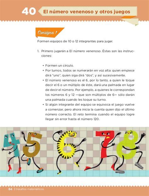 respuestas de libro de matemticas de 6 2016 libro de texto desafios matematicos 6to alumno 2014 2015