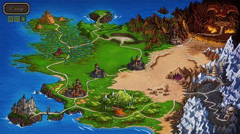 legend of zelda overland map loren the amazon princess rpg
