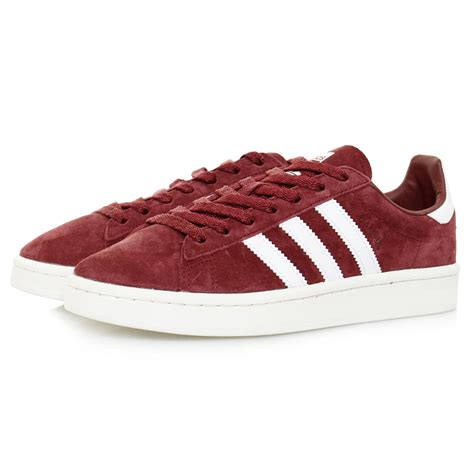 adidas cus trainers burgundy shoe