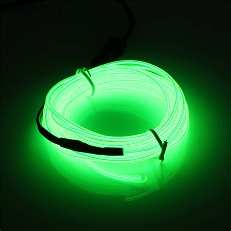 Glow Neon Light Bar Wire usb led el wire neon glow car
