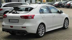 Mitsubishi Sport Back Created To Fly Mitsubishi Lancer Sportback