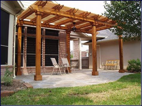 Patio And Pergola Plans Patio Covers And Pergolas In The Woodlands Hortus
