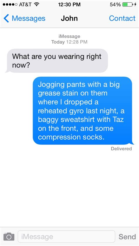 7 Worst Responses To I You by Best And Worst Ways To Respond To A Sext Gallery