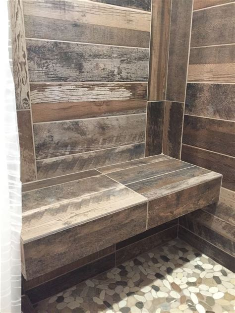 Bathroom Ideas With Tub Looking At A View best 25 wood tile shower ideas on pinterest rustic