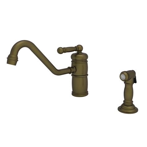newport brass kitchen faucet faucet com 941 06 in antique brass by newport brass