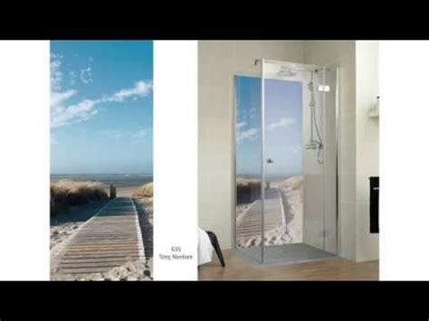 badezimmer dekorplatten decocolor und decodesign duschr 252 ckwande schulte