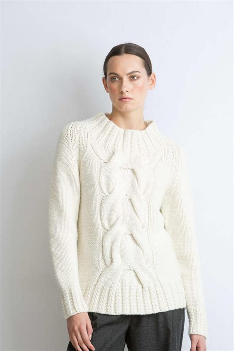 Cable Sweter cable knit sweater baggage clothing