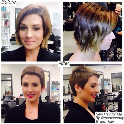 before and after short haircuts for women before and after pictures of short haircuts haircuts