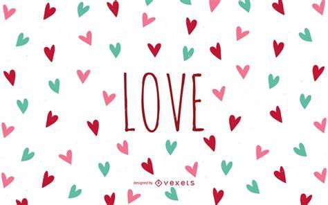 imagenes de corazones para fondo de pantalla lindos fondo de pantalla de amor con corazones descargar vector