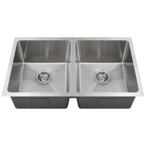 direct mount sink mr direct undermount stainless steel 31 in bowl