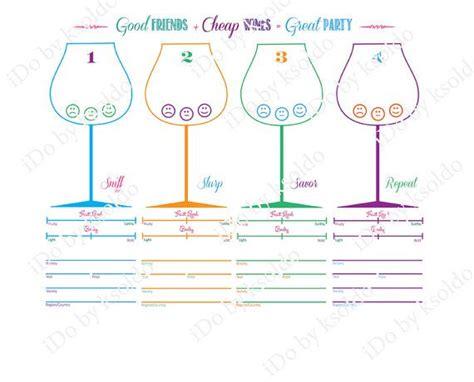 wine score cards template the gallery for gt wine tasting score cards