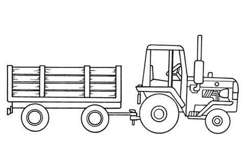 free tractor coloring pages az coloring pages tractor trailer coloring pages az coloring pages
