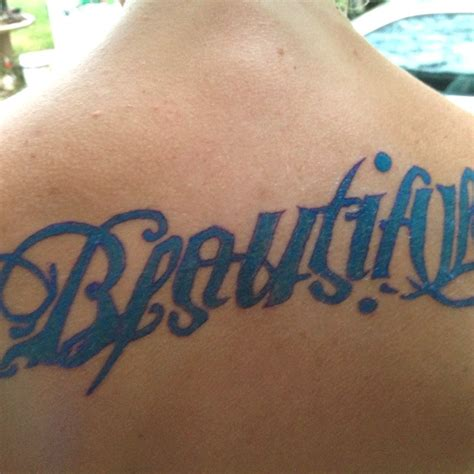 tattoo disasters pictures beautiful disaster ambigram tattoo ink pinterest