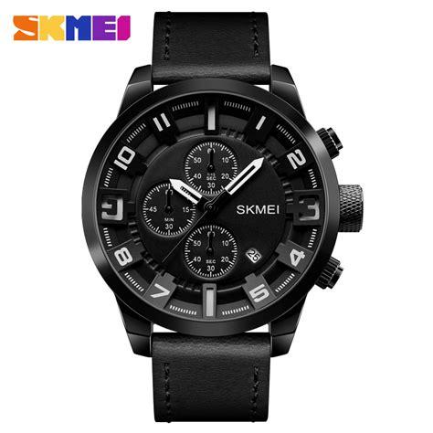 Jam Tangan Pria Quiksilver 1 skmei jam tangan analog chrono pria 1309 black jakartanotebook