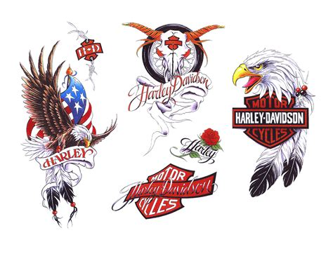 harley tattoos designs harley davidson tattoos