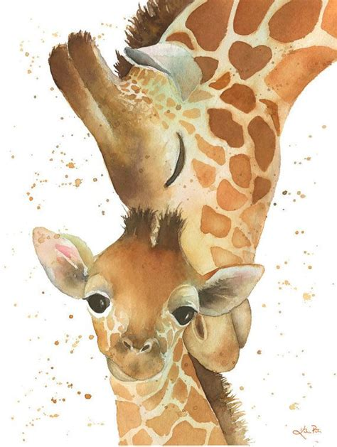 watercolor tattoos giraffe best 25 baby giraffe pictures ideas only on