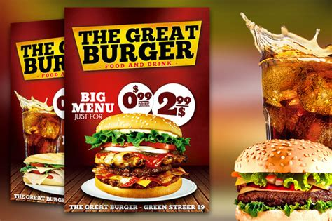 design banner burger burger fast food flyer restaurant by graphicfy templates