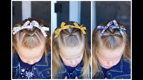 baby girl hairstyles youtube 3 simple and fast toddler hairstyles youtube
