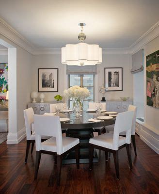 all white dining rooms black and white by robyn karp